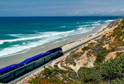 moverse por la costa de San Diego: Train Coaster